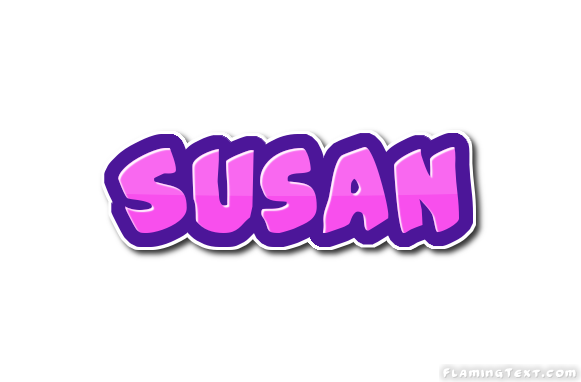 Susan name clipart image black and white stock Susan Logo | Free Name Design Tool from Flaming Text image black and white stock