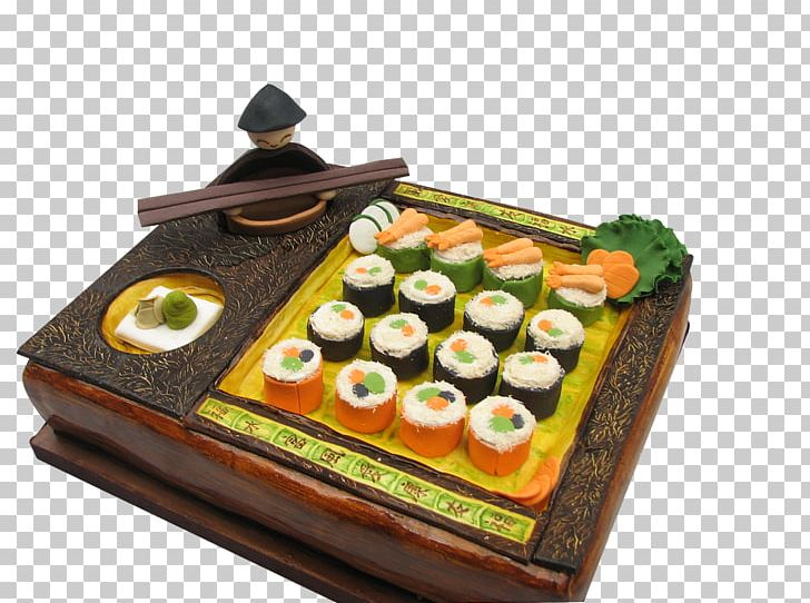 Sushi cake clipart graphic transparent download Sushi Japanese Cuisine Torte Sashimi Torta PNG, Clipart ... graphic transparent download