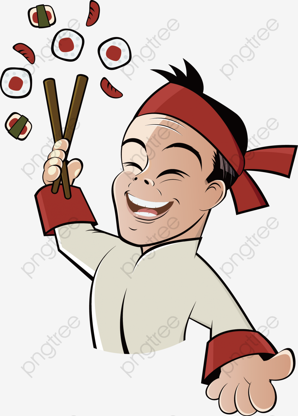 Sushi chef clipart picture black and white stock Download Free png Transparent do sushi chef PNG Format Image ... picture black and white stock