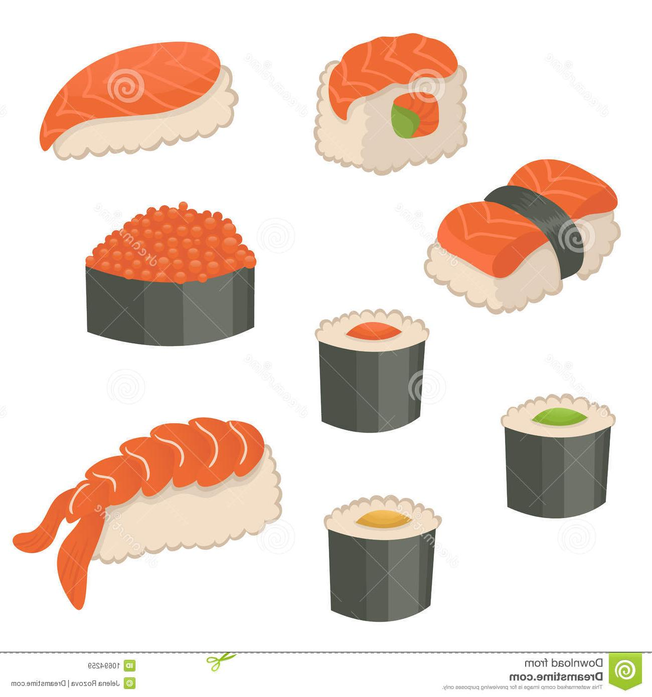 Sushi icon clipart graphic freeuse library Unique Cute Sushi Icon Drawing » Free Vector Art, Images ... graphic freeuse library