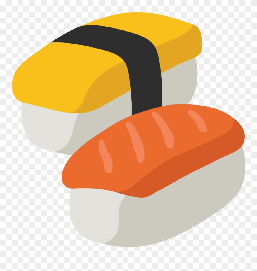 Sushi icon clipart picture royalty free Sushi Png Cartoon - Emoji Sushi Transparent Background ... picture royalty free