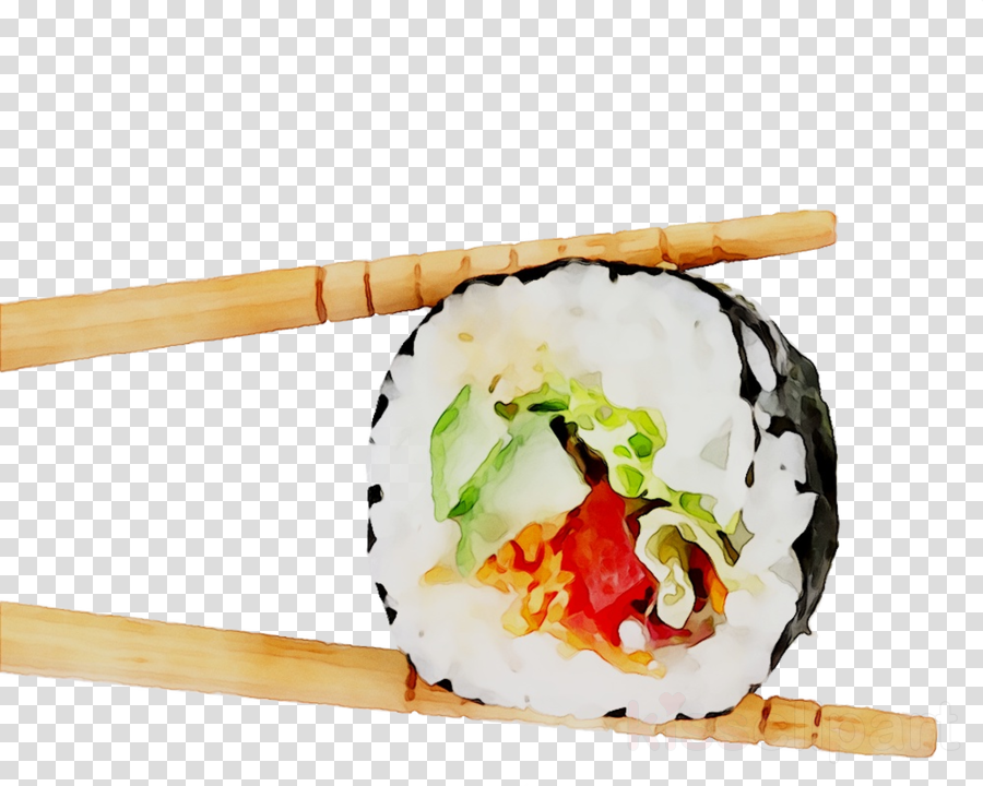 Sushi roll clipart with chopsticks image free library Sushi Cartoon clipart - Sushi, Food, transparent clip art image free library
