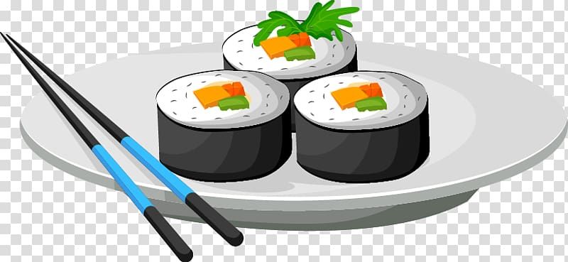 Sushi roll clipart with chopsticks clipart library download California roll Gimbap Sushi Japanese Cuisine Chopsticks ... clipart library download
