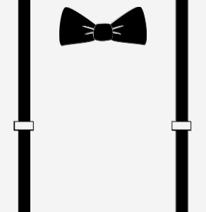 Suspenders and bow tie clipart jpg freeuse library Bow Tie T-Shirts - T-Shirt Design & Printing | Zazzle jpg freeuse library
