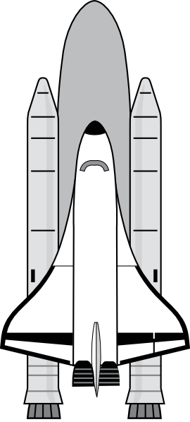 Suttle clipart transparent download Space Shuttle Clip Art at Clker.com - vector clip art online ... transparent download