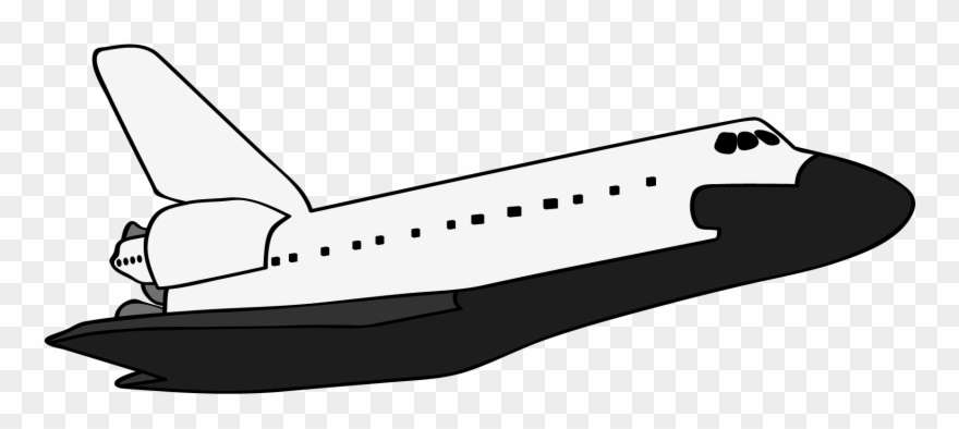 Suttle clipart png library download You Can Use This Simple Space Shuttle Clip Art On Your ... png library download