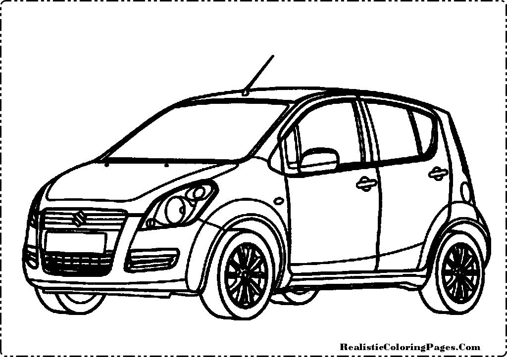 Suzuki car clipart clip download Suzuki Splash Cars Coloring Pages | Coloring Pages - Clip ... clip download