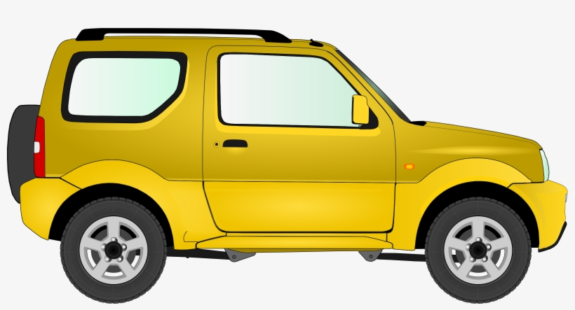 Suzuki car clipart banner free Car 15 Clipart Black And White Download - Suzuki Jimny Car ... banner free