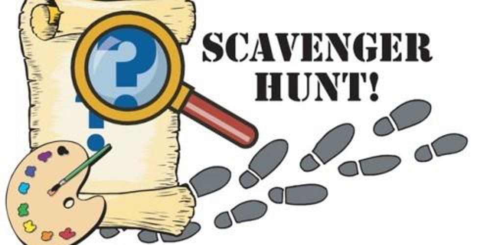 Svanger clipart banner library library Traces Of History Black Scavenger Hunt 2019 Tickets Sun ... banner library library