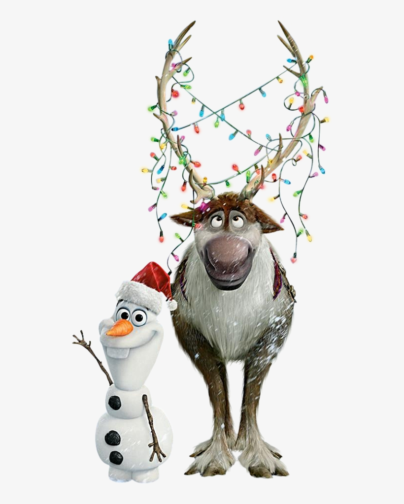Sven christmas clipart free library Frozen Clipart Oluf - Olaf And Sven Christmas PNG Image ... free library