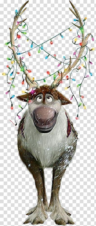 Sven christmas clipart clip art transparent download Disney Frozen character illustration, Elsa Kristoff Hans ... clip art transparent download