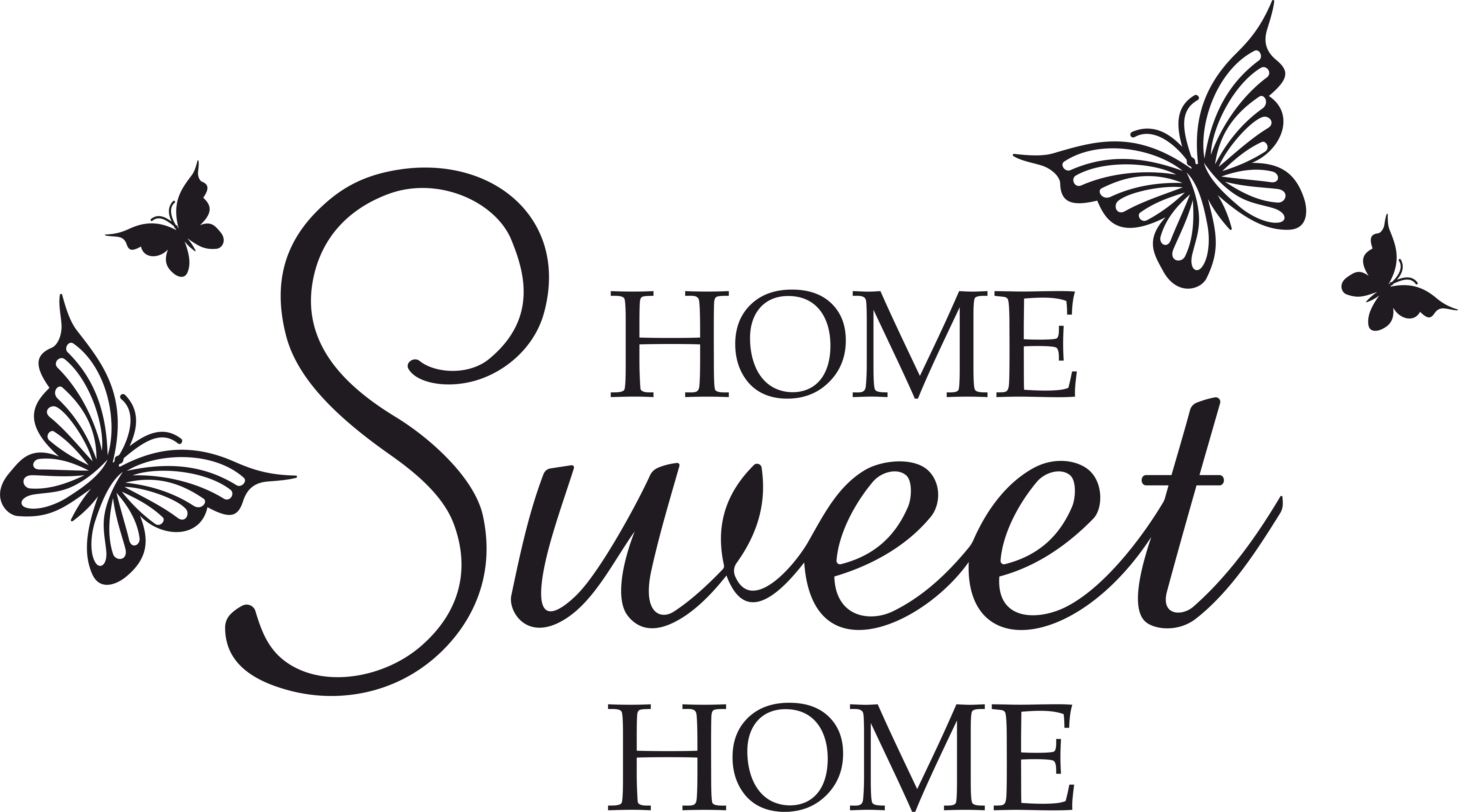 Svg clip art png royalty free stock Home Sweet Home Butterfly SVG, DXF, EPS, png, by vectordesign on png royalty free stock
