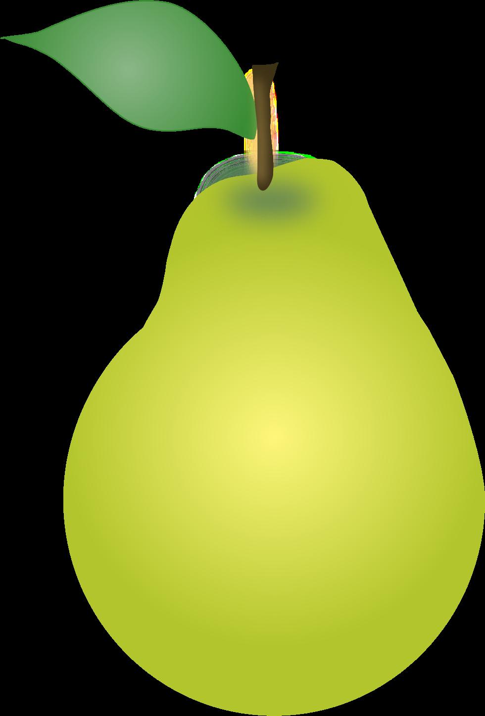 Svg clip art png transparent stock Clipart - Pear SVG, Pear clipart png transparent stock