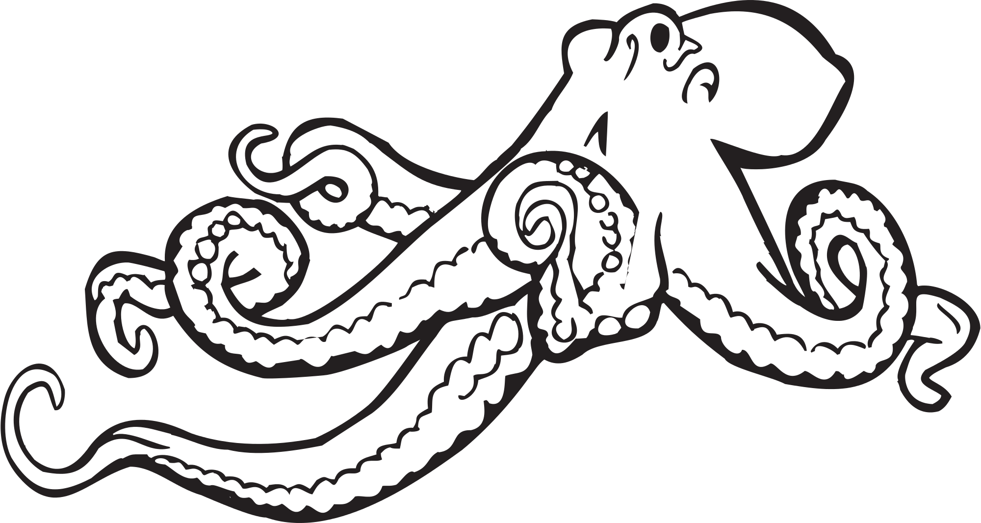 Svg clip art svg transparent library File:Octopus clipart.svg - Wikimedia Commons svg transparent library