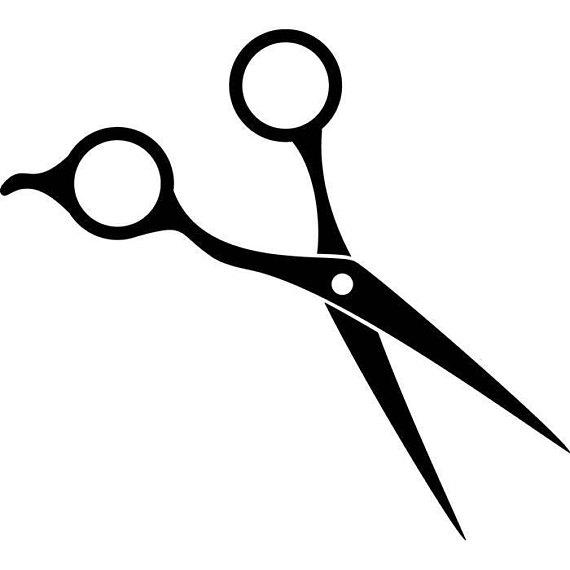 Svg clipart cosmeto ogy shears banner black and white Barber clipart scissors, Barber scissors Transparent FREE ... banner black and white