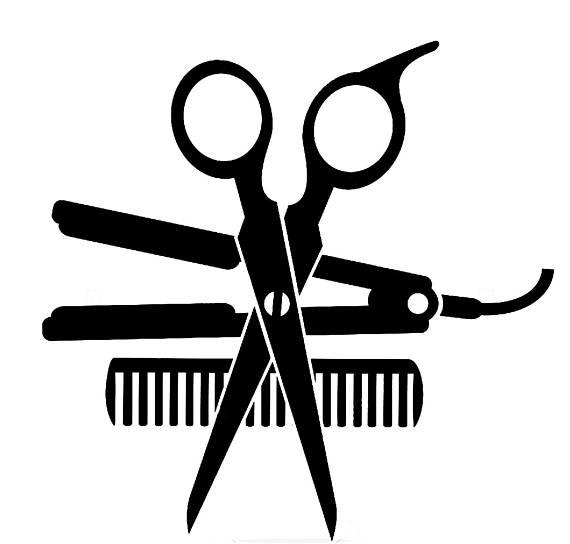 Svg clipart cosmeto ogy shears transparent stock Salon Beauty Dryer Accessories Hair Shop Scissors ... transparent stock