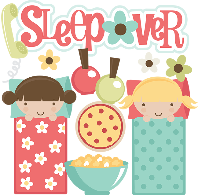 Christmas pajama party clipart clip royalty free download Sleepover SVG files for scrapbooking sleepover clipart cute ... clip royalty free download