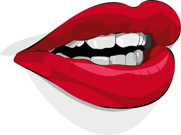 Svg clipart mouth clipart library Mouth clip art Free vector in Open office drawing svg ( .svg ... clipart library