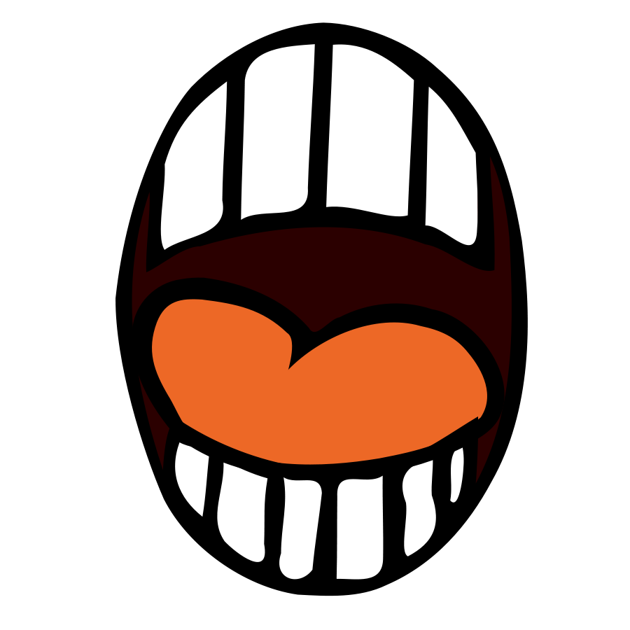 Svg clipart mouth clipart Svg clipart mouth - ClipartFest clipart