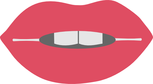 Svg clipart mouth graphic library stock Lips 3 Clip Art at Clker.com - vector clip art online, royalty ... graphic library stock