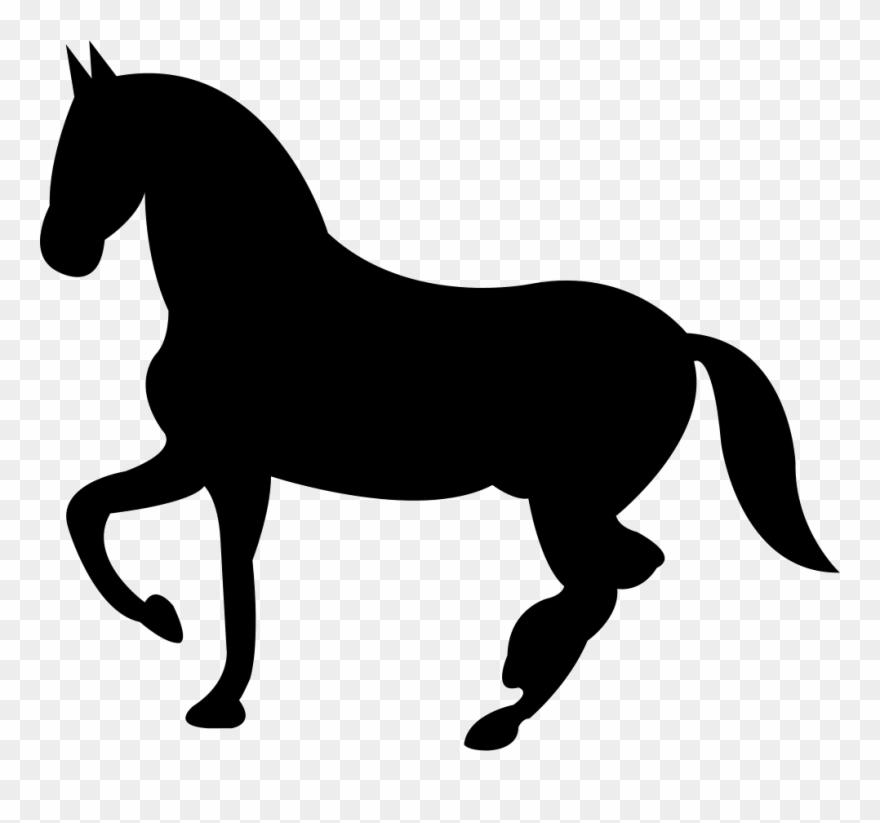 Svg horse clipart svg transparent Dancing Black Horse Shape Of Svg Png - Horse Logo Vector Png ... svg transparent