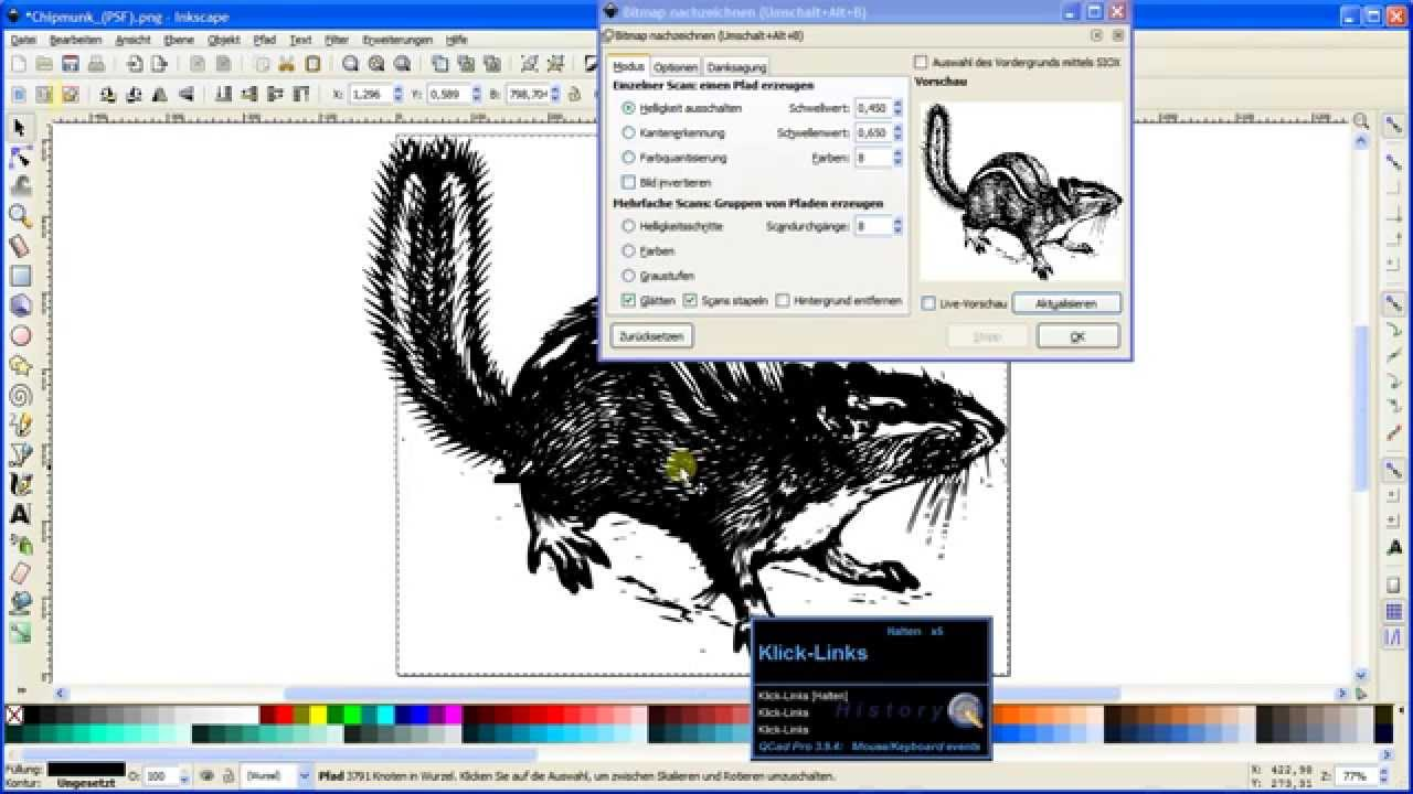 Svg in clipart umwandeln image library Inkscape How-to: Pixelgrafik zu *.dxf konvertieren image library