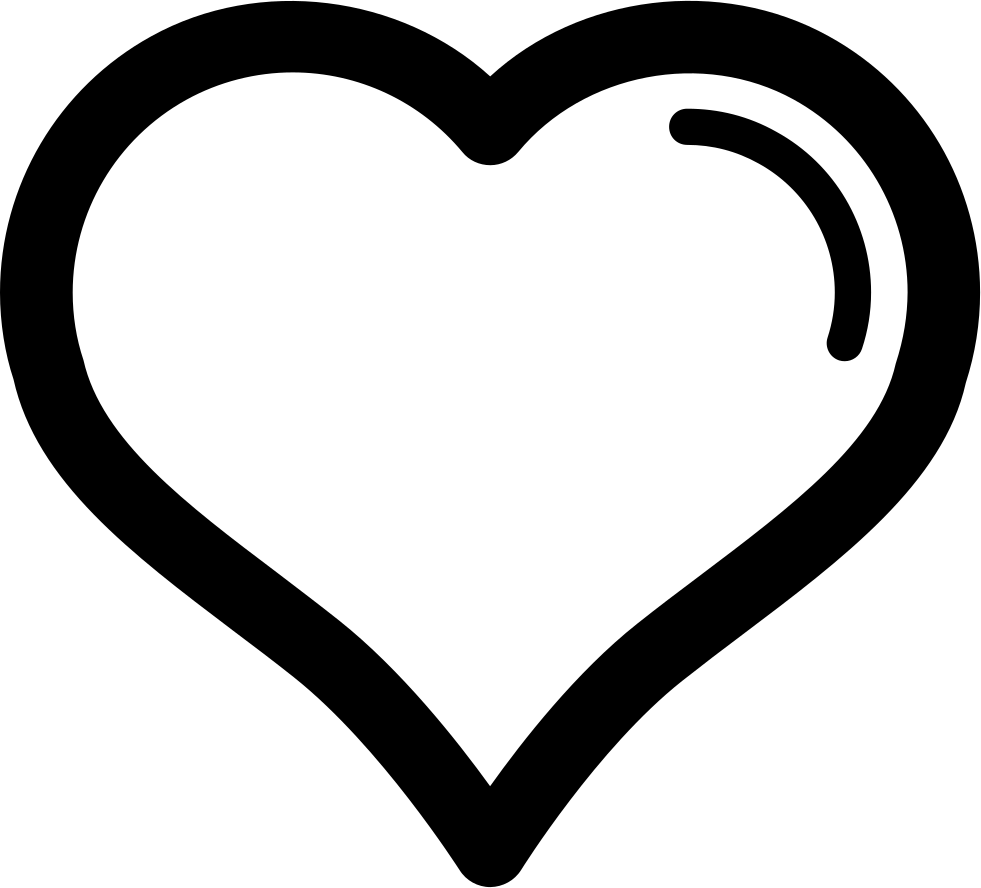 Svg outline heart clipart clipart freeuse stock Heart With Gross Outline Svg Png Icon Free Download (#33362 ... clipart freeuse stock