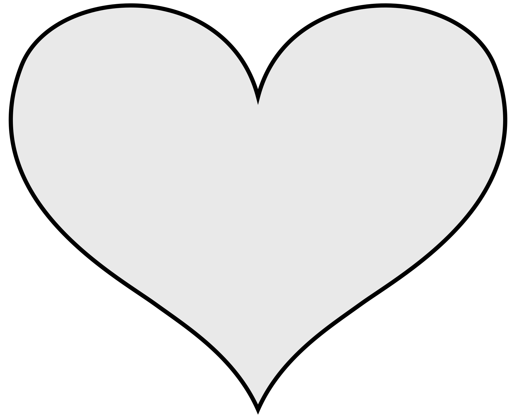 Heart and line clipart clipart black and white library File:Coa Illustration Elements Bodypart Heart.svg - Wikimedia Commons clipart black and white library