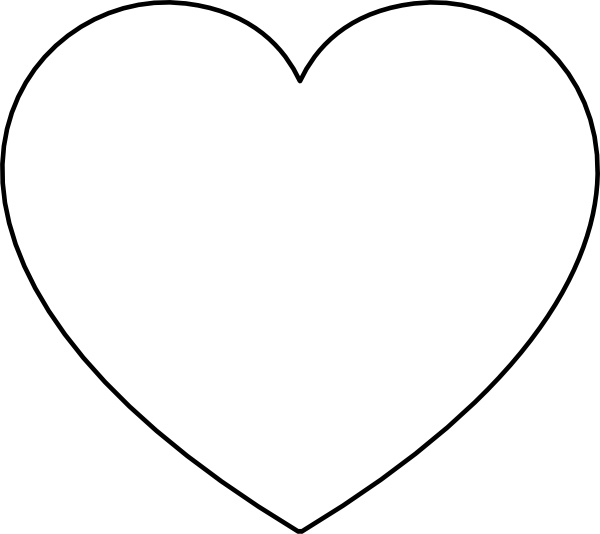 Svg outline heart clipart free Heart clip art Free vector in Open office drawing svg ( .svg ... free