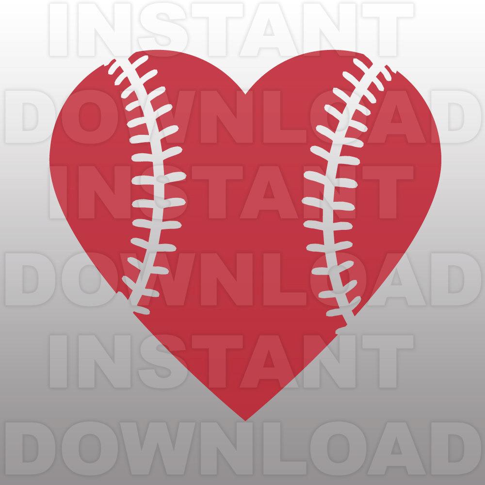 Svg outline heart clipart png freeuse download Heart shaped baseball clipart - ClipartFest png freeuse download