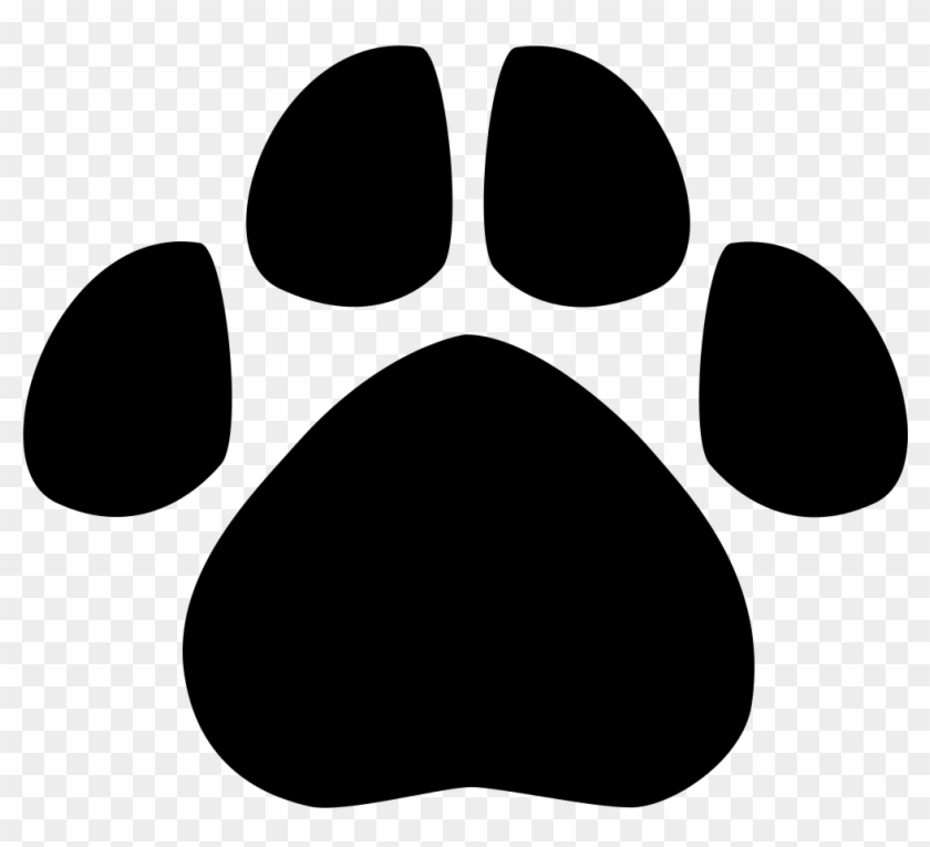 Svg scouts clipart black and white free image free stock File - Animal Footprint - Svg - Cub Scout Tiger Paw, HD Png ... image free stock