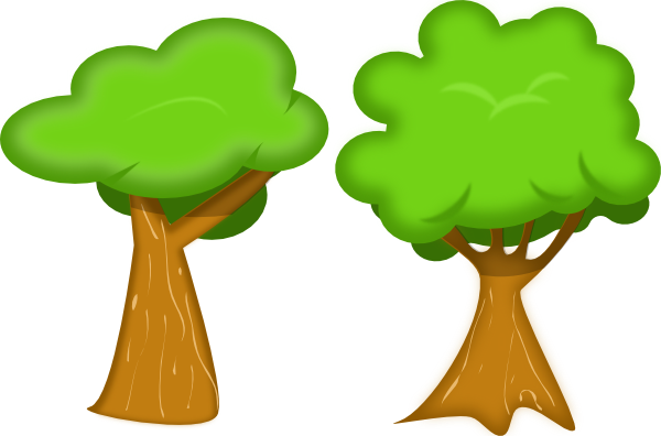 Svg tree clipart picture Soft Trees Clip Art at Clker.com - vector clip art online, royalty ... picture