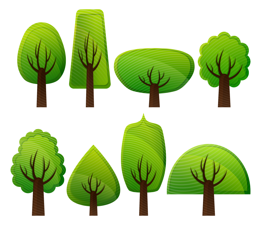 Svg tree clipart vector Trees tree outline clip art free vector in open office drawing svg ... vector