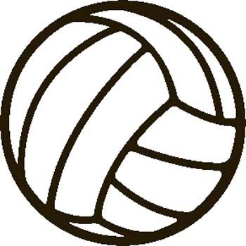 Svolleyball clipart graphic freeuse library volleyball clip art - Google Search | Athletic Cakes ... graphic freeuse library