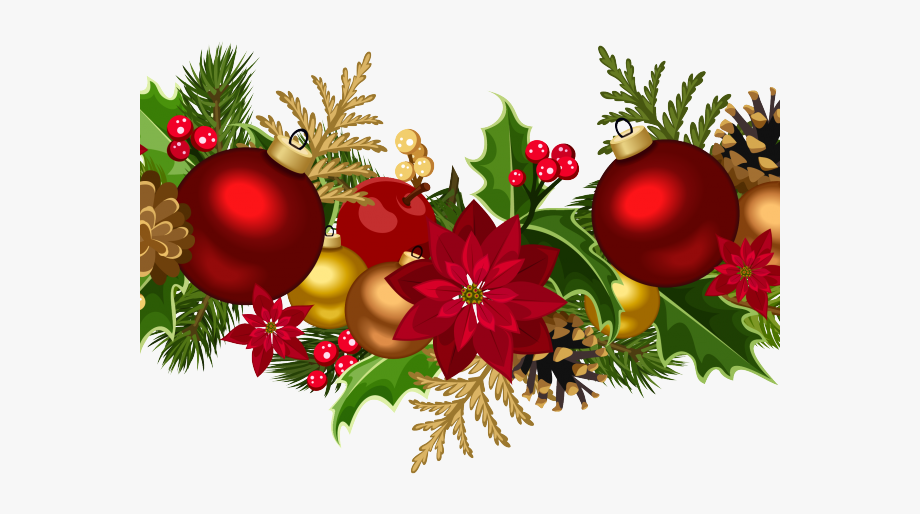 Swag clipart png freeuse Christmas Ornament Clipart Swag - Transparent Christmas ... png freeuse