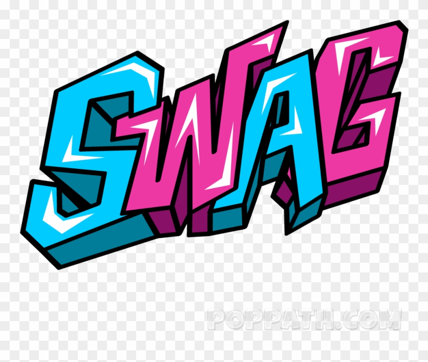 Swag clipart clip free Graffiti Clipart Word - Swag Png Transparent Png (#1557575 ... clip free