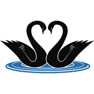 Swans clipart image freeuse Swans clipart, cliparts of Swans free download (wmf, eps ... image freeuse