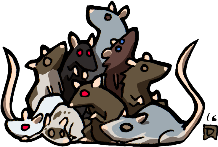 Swarm clipart clip art royalty free Swarm Of Rats - Swarm Of Rats Dnd Clipart - Full Size ... clip art royalty free