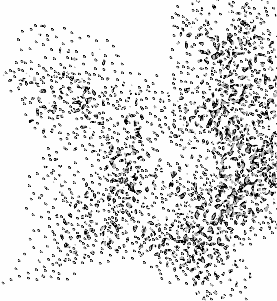 Swarm clipart graphic library stock Public Domain Clip Art Image | Network Node Cloud Swarm ... graphic library stock