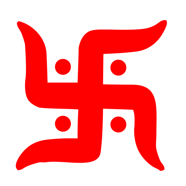 Swastik symbol clipart