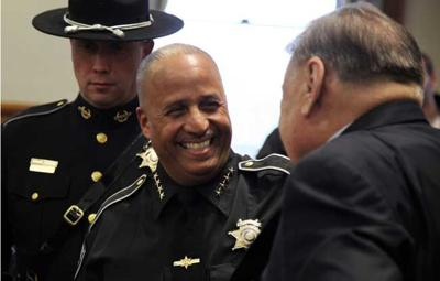 Swearing in as sherriff clipart svg download Juan Figueroa sworn in as Ulster County sheriff | Local News ... svg download