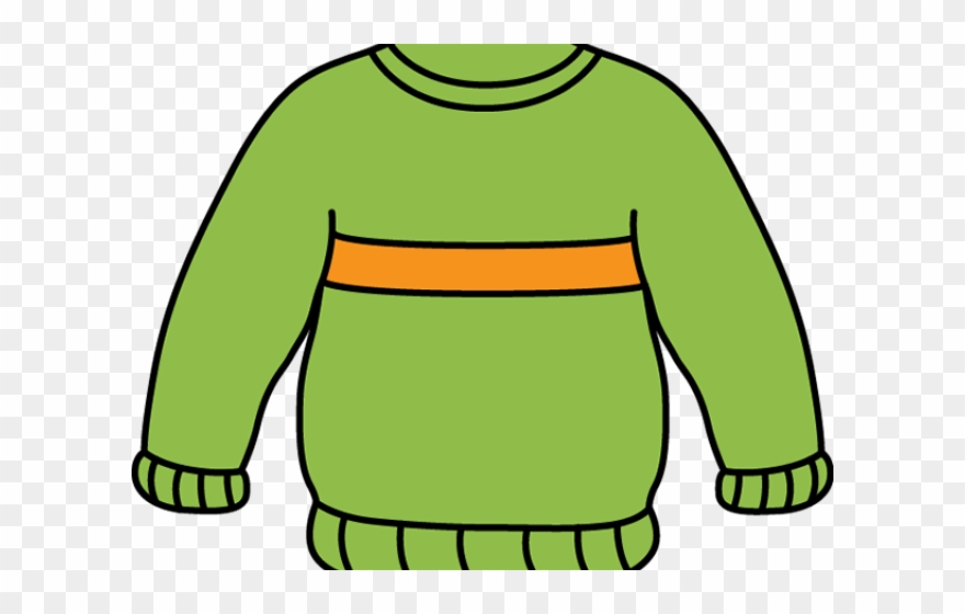 Sweater clipart outline transparent background clip library stock Stripe Clipart Wool Sweater - Sweater Clipart Black And ... clip library stock