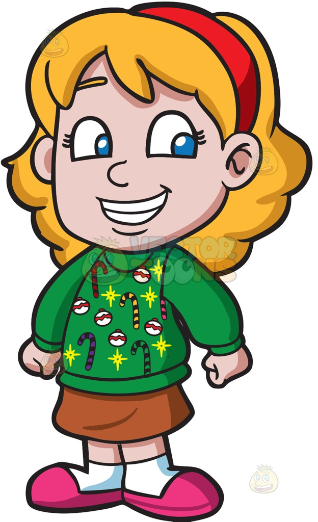 Sweaters clipart girl clip art free Free Ugly Sweater Clipart | Free download best Free Ugly ... clip art free