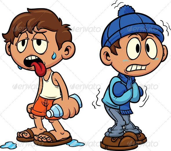 Sweating kid clipart jpg freeuse stock blue, boy, cartoon, character, cold, cute, gradient, hot ... jpg freeuse stock