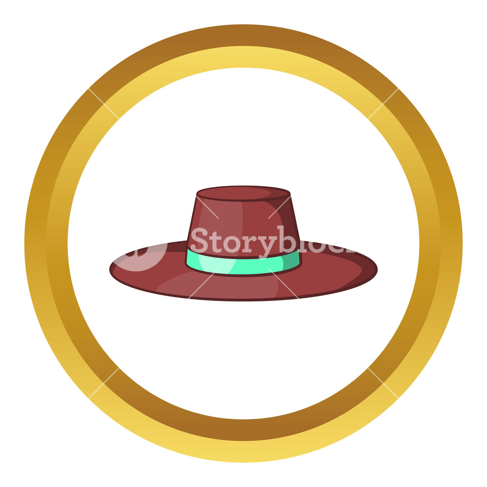 Sweden traditional clothing men clipart image transparent download Man traditional sweden headwear vector icon in golden circle ... image transparent download