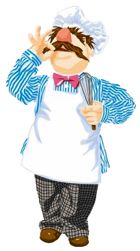 Swedish chef clipart graphic black and white stock Swedish Chef Quotes. QuotesGram graphic black and white stock