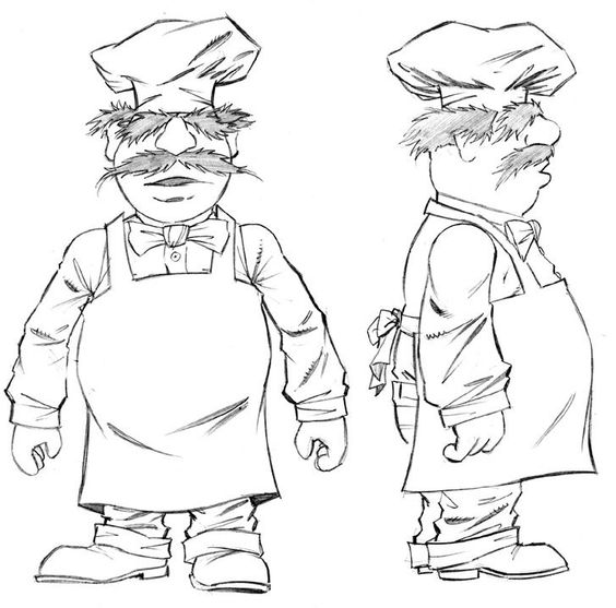 Swedish chef clipart jpg library library swedish chef coloring pages - Google Search | Chefs | Pinterest ... jpg library library