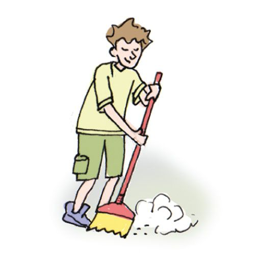 Sweeper clipart clipart freeuse stock floor sweeper clipart - Google Search | Cliparts | Cooking ... clipart freeuse stock