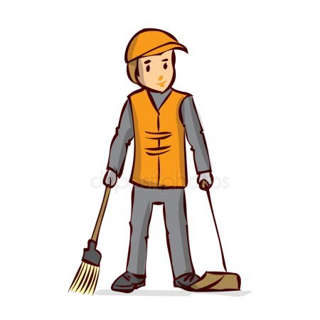 Sweeper clipart vector royalty free library Street sweeper clipart 6 » Clipart Portal vector royalty free library