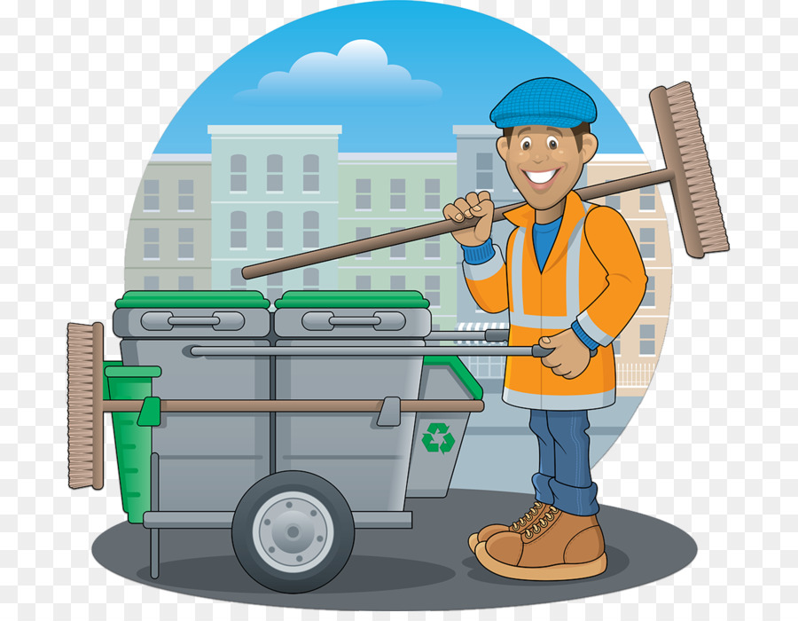 Sweeper clipart banner royalty free Cartoon Street png download - 1307*1000 - Free Transparent ... banner royalty free